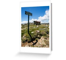 Seamans Hut  Greeting Card