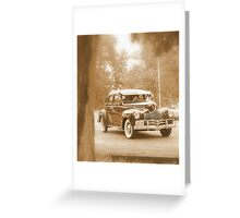 The Oldies....Oh, to go back in time! Greeting Card