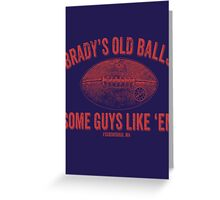 Brady's Old Balls Greeting Card