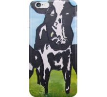 Happy cows iPhone Case/Skin