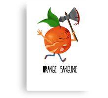 Orange Sanguine/Bloody Orange Canvas Print
