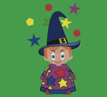Wizards in Space - Toon Boy 6e Kids Clothes