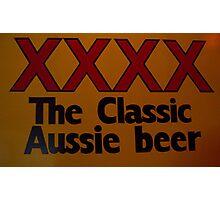 Aussie Beer Photographic Print
