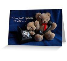 Calling Card # 2 Greeting Card