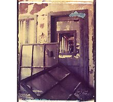 Armstrong Cork Factory - Self Portrait #1 Photographic Print