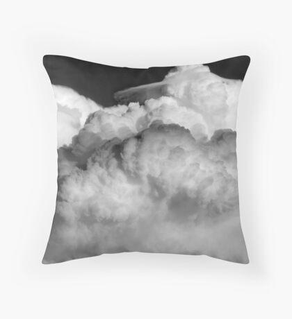 Ominous Clouds Throw Pillow