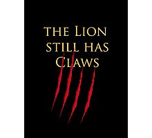 Lannister claws Photographic Print