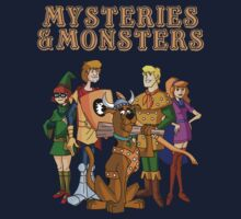 Mysteries & Monsters Kids Clothes