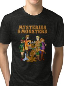 Mysteries & Monsters Tri-blend T-Shirt
