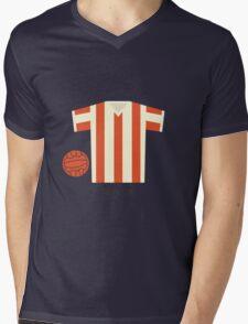 Stoke City Mens V-Neck T-Shirt