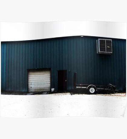 Blue Shed Poster