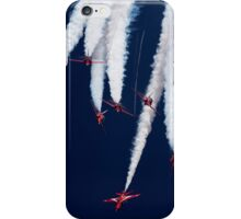 Red Arrows Spag Break iPhone Case/Skin
