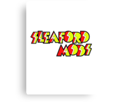 Sleaford Mods Canvas Print