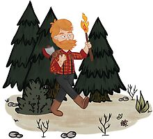 Woodie in the Woods by megsneggs