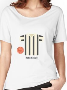 Notts County Women's Relaxed Fit T-Shirt