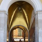 Golden Archway, Nice by CorkDayDreamer