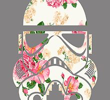 Vintage Floral Stormtrooper Design by hellosailortees