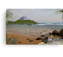 970-Jaguar Beach Canvas Print