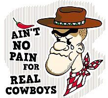 Ain't no Pain for real Cowboys by chrisbears