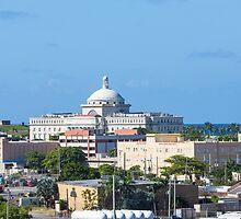 Coastal Buildings in San Juan by dbvirago