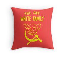Fat White Family Throw Pillow