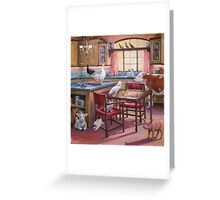 OCCUPATION OF THE KITCHEN Greeting Card