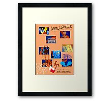 *BRUSHES*        Framed Print