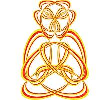 Buda yellow/orange Photographic Print