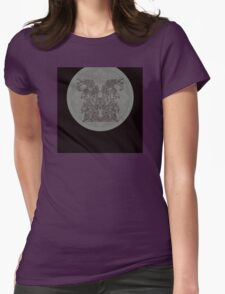 hieroglyphic 1 Womens Fitted T-Shirt