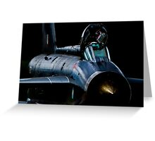 Lightning XR728 in the shadows Greeting Card