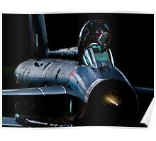 Lightning XR728 in the shadows Poster