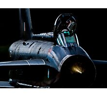 Lightning XR728 in the shadows Photographic Print