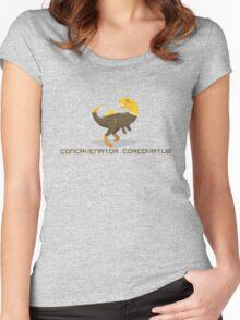 Pixel Concavenator Women's Fitted Scoop T-Shirt