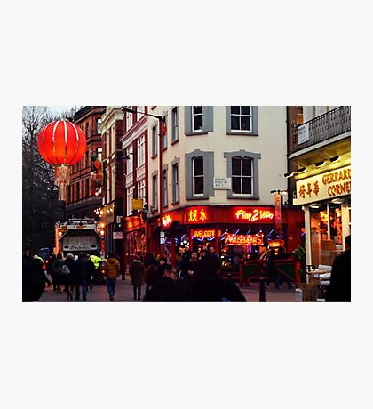 China Town - London Photographic Print