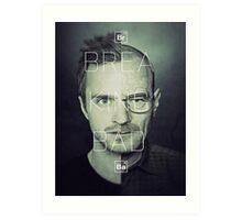 Heisenberg & Pinkman Art Print