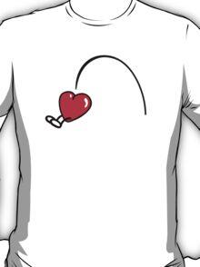 Funny Heart jumps T-Shirt