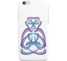 Buda blue/rose iPhone Case/Skin