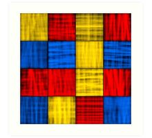 Getting Lost In The Intersections - Study In Abstractions Art Print