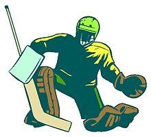 Hockey Goalie by kwg2200