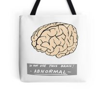 Abby Normal (Young Frankenstein) Tote Bag