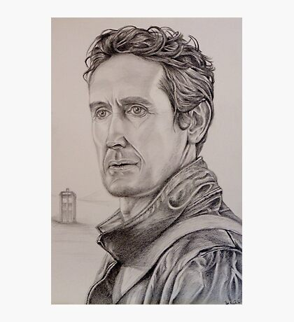 Paul McGann the eighth Doctor Photographic Print