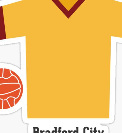 Bradford City Sticker