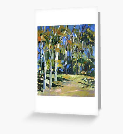Pale Gums Greeting Card