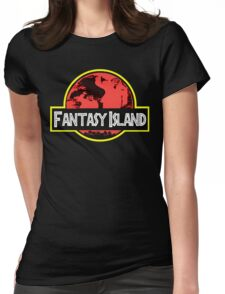 Fantasy Island Womens Fitted T-Shirt