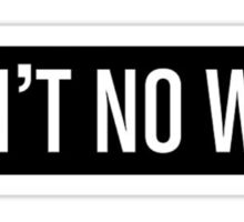 Ain't No Wifi Sticker