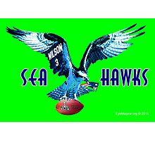 Seattle Seahawks v. Patriots Photographic Print