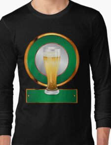 Glass of beer 2 Long Sleeve T-Shirt