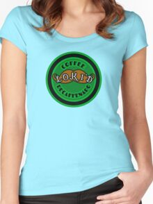 Loki'd Brand Decaffenado Coffee Women's Fitted Scoop T-Shirt