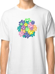 vivid flowers Classic T-Shirt