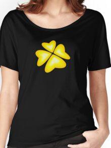 yellow heart flower Women's Relaxed Fit T-Shirt